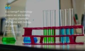 Dr Phil Caunt, Research & Development Scientist at Genesis Biosciences UK facility - quote