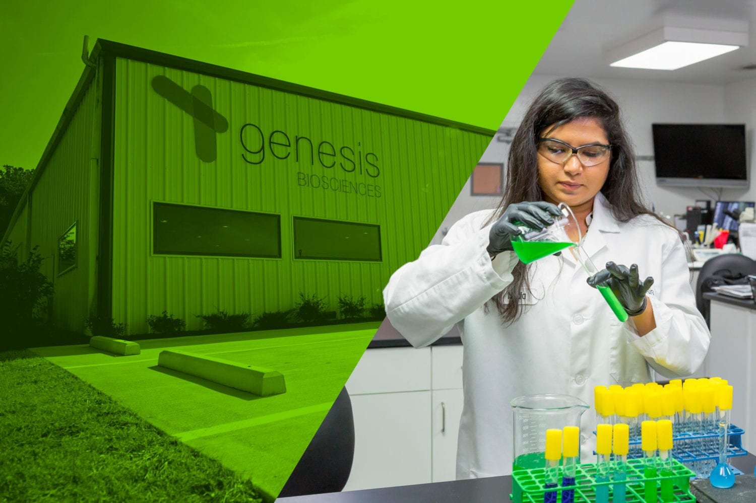 Meet the Genesis Biosciences team - industry-leading experts across scientific fields