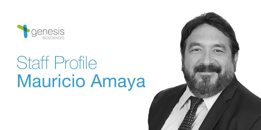 Staff Profile: Mauricio Amaya