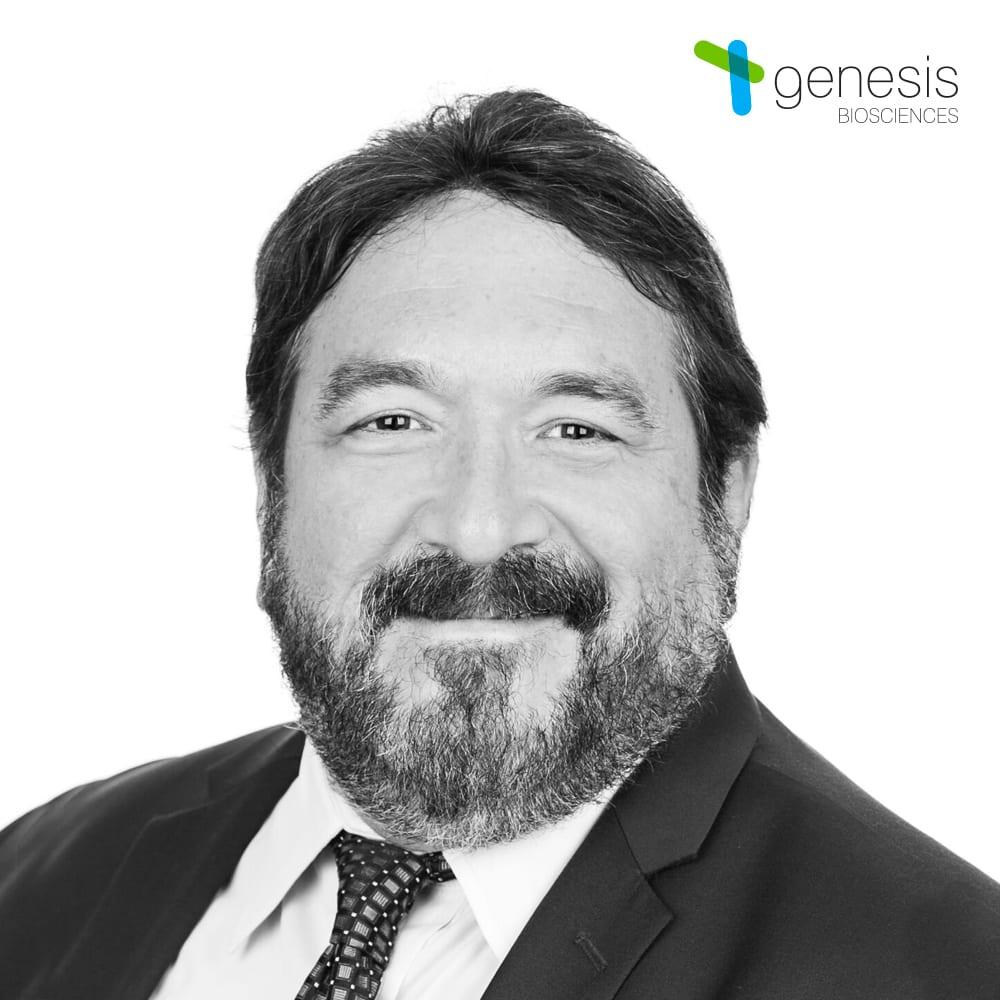 Mauricio Amaya, VP of Technical Services, Genesis Biosciences