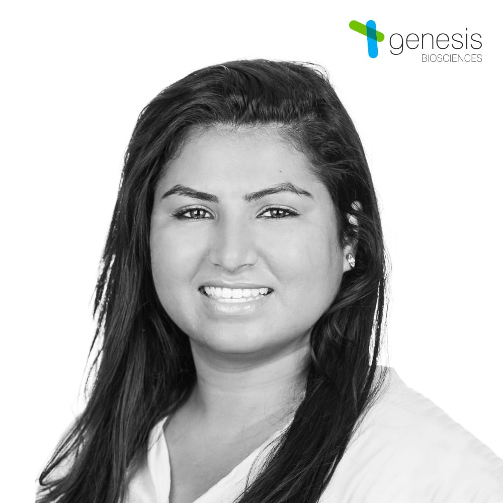Nadia Meghjani, Microbiology Supervisor, Genesis Biosciences