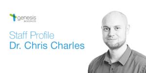 Dr. Chris Charles, Research Scientist, Genesis