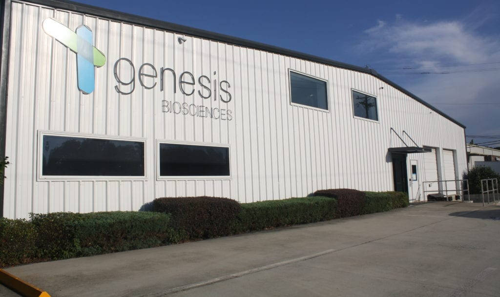 Genesis Biosciences US facility - new investments and upgrades