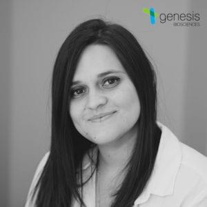 Ashley Irizarry, QC Microbiologist at Genesis Biosciences