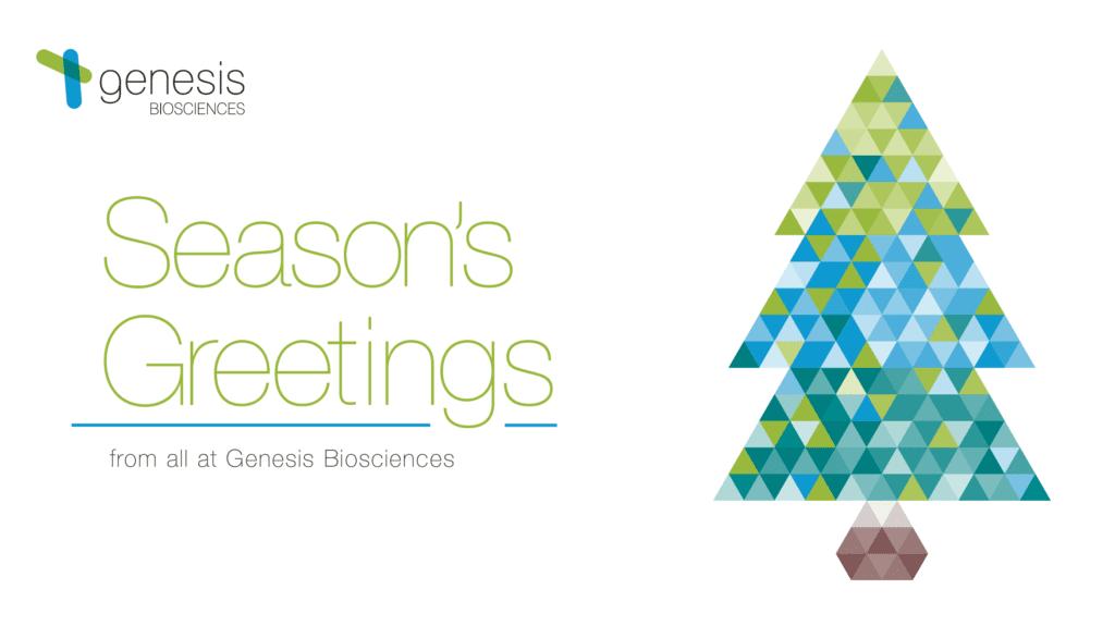 Season's greetings from Genesis Biosciences US