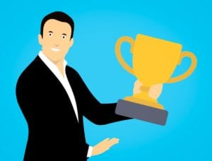 Clipart for Matthew Bart employee of the year award