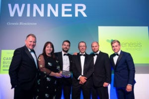 Genesis Biosciences wins 'Green Business of the Year 2019'!