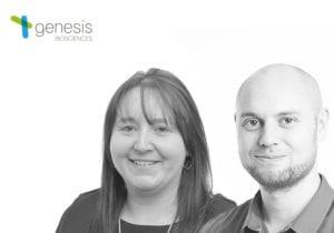 Doug Manning Award for excellence award winners - Genesis Bioscience team