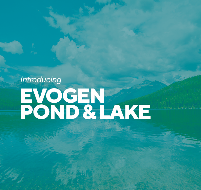 Introducing the new Evogen Pond & Lake product range